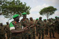 Free AMISOM Force Commander Tours Afgoye Corridor 10 Stock Image - 92652951