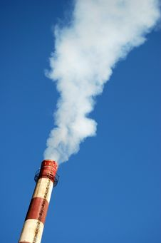 Free Factory Pollution Stock Photography - 9270142