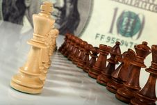 Free Chess Composition Stock Image - 9270301