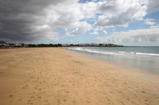 Free Beach In Lanzarote Royalty Free Stock Photo - 9271225