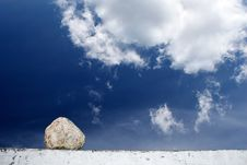 Free Stone And Sky Royalty Free Stock Image - 9271876