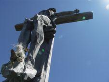 Free Wooden Crucifix Stock Photos - 9272953