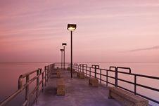 Free Pier In Edgewood Park Stock Photo - 9273020