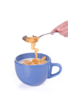 Free Corn Flakes Stock Photo - 9273330