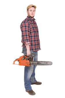 Woodcutter Stock Image