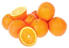 Free Bunch Of Fresh Oranges Stock Photos - 9273503