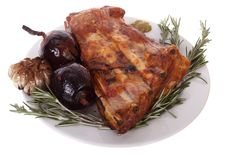 Free Grilled Pork Ribs Stock Photos - 9273533