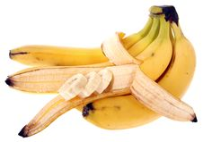 Free Bananas Bunch Royalty Free Stock Photos - 9273598