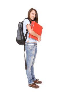 Free School Girl Stock Photos - 9273653