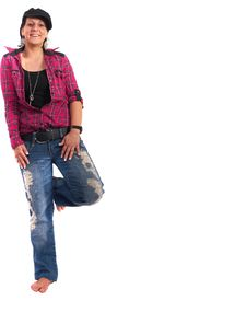 Free Blue Jeans Royalty Free Stock Images - 9274199