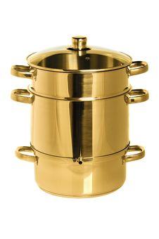 Free Yellow Metal Pan Stock Photo - 9275210