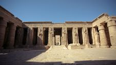 Free Temple In Egypt Stock Photography - 9278252