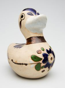 Ceramic Duck Stock Photography