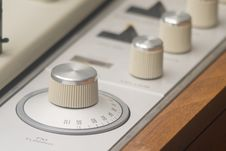 Free Vintage Stereo Knobs Stock Images - 9278734