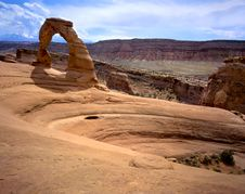 Free Delicate Arch Royalty Free Stock Photos - 9279318
