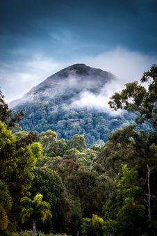 Free Tropical Mountain Range  Royalty Free Stock Images - 92710649
