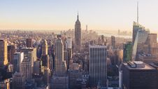 Free Empire State Building, New York City Stock Image - 92752921