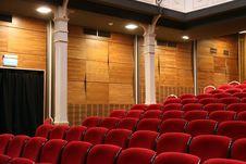 Free Auditorium Seats Stock Image - 92753131