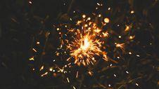 Free Burning Sparkler Royalty Free Stock Photos - 92753318