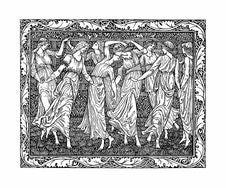 Free The Lusty Folk Thus Danced Stock Photo - 92753430