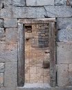 Free Ancient Blocked Door Stock Photography - 9281752