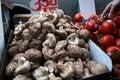 Free Mushrooms On Street Market Stock Photos - 9289623