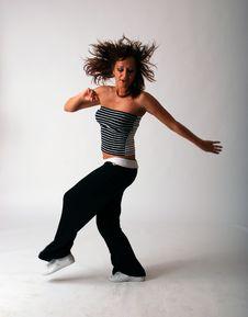 Free Attractive Teenage Dancing Stock Image - 9280531