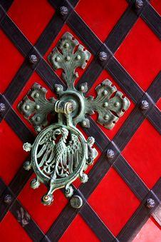 Ancient Door Knocker Royalty Free Stock Photos