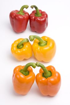 Free Sweet Peppers. Stock Photography - 9280812