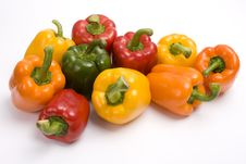 Free Pepper. Sweet Peppers Royalty Free Stock Photography - 9280817