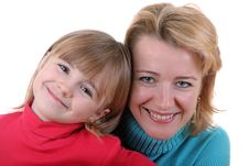 Free Happy Mother And Daughter Royalty Free Stock Photos - 9281178