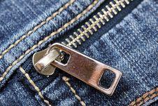 Free Closeup Of The Zipper Stock Photo - 9281380