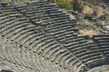 Free Delfi - Sanctuary Of Athens, Theater Stock Image - 9281511