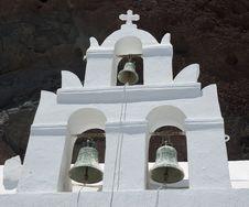 Free Santorini Houses - Churches Royalty Free Stock Image - 9282076