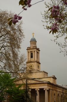 Free Spring London Royalty Free Stock Photography - 9283277