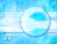 Free Pacifying Aquatic Background Stock Photography - 9283302