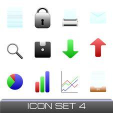 Free Icon Set Stock Image - 9283491