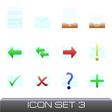 Free Icon Set Stock Photography - 9283492