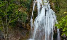 Free Mountain Crimean Waterfall Of Dzhur-Dzhur Stock Photos - 9283523