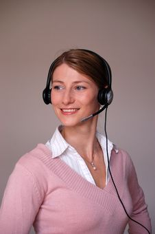 Call-center Royalty Free Stock Photography