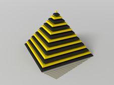 Free Pyramid Royalty Free Stock Image - 9283726