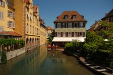 Free Petite Venice, Colmar Royalty Free Stock Photography - 9283827