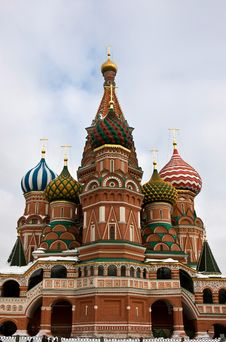 Free Vasily S Temple Blessed. Royalty Free Stock Image - 9284606