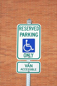 Free Parking Sign Stock Image - 9284791