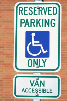 Free Parking Sign Stock Photography - 9284792