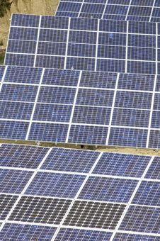 Free Photovoltaic Panels Royalty Free Stock Photography - 9285117