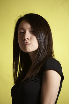 Free Pouting At The Camera Stock Photo - 9285660