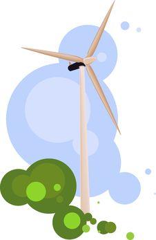 Free Wind Turbine Stock Images - 9286714
