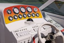 Free At The Helm Stock Images - 9286984