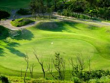 Free Golf Place Royalty Free Stock Photography - 9287407